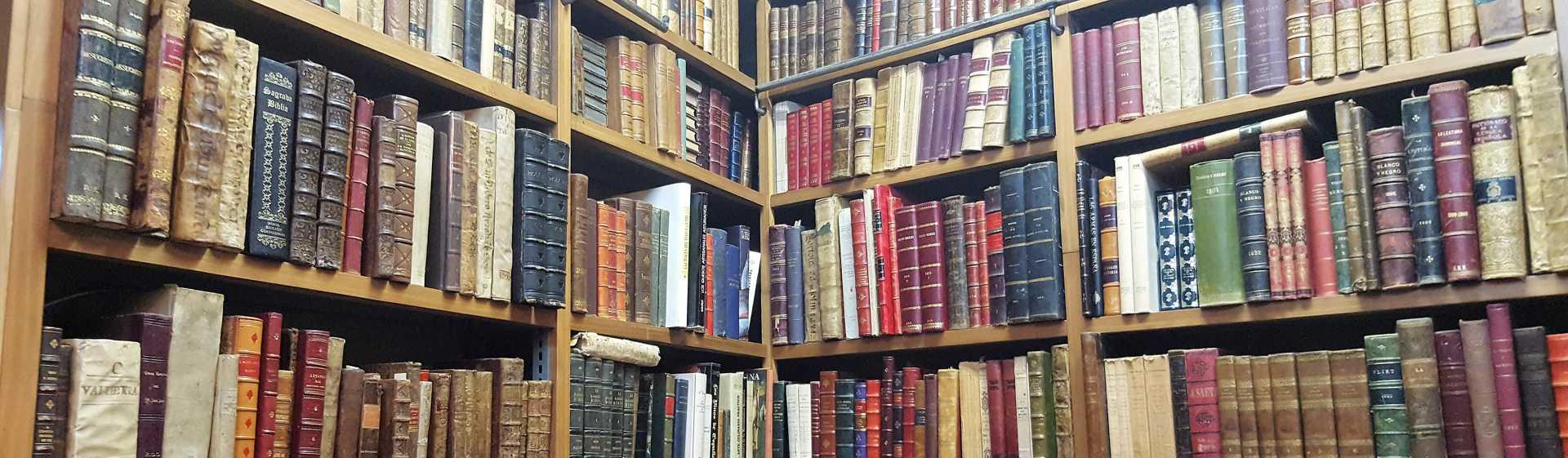 Compra venta libro antiguo